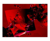 Red Dancing Photographic Print by Vicky Brago-Mitchell
