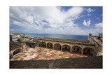 Aerial View from the Fort of San Cristobal Photographic Print by George Oze