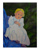 011008 1916 Little Josephine Giclee Print by Garland Oldham