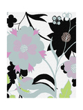 2 of 2 Abstract Floral Funk Giclee Print by Ricki Mountain