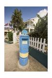 Royal Mailbox Georgetown Grand Cayman Photographic Print by George Oze