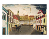 Traders in Prague Giclee Print by Scott Shiffer