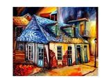 John La Fitte's Blacksmith Shop Giclee Print by Diane Millsap