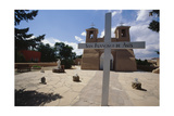 Adobe Church Ranchos De Taos New Mexico Photographic Print by George Oze