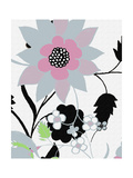 1 of 2 Abstract Floral Funk Giclee Print by Ricki Mountain