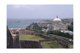 Parliament Building of Puerto Rico in San Juan Photographic Print by George Oze