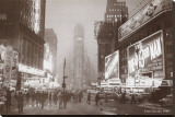 Times Square Stretched Canvas Print