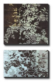 Brocade Botanical I Canvas Set by John Butler