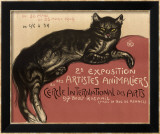 Cat Art by Théophile Alexandre Steinlen
