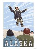 Blanket Toss, Barrow, Alaska Posters by  Lantern Press