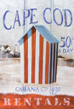 Cape Cod Cabana Print by Robert Downs