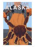 King Crab Fisherman, Ketchikan, Alaska Posters af  Lantern Press