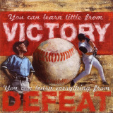 Victory: Baseball Kunst von Robert Downs