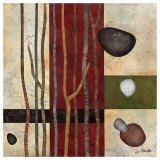 Sticks and Stones V Kunst af Glenys Porter