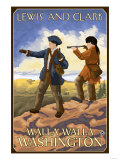 Lewis and Clark, Walla Walla, Washington Posters by  Lantern Press