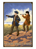 Lewis and Clark Exploring the West Posters by  Lantern Press