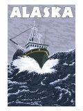 Crab Boat, Alaska Posters by  Lantern Press