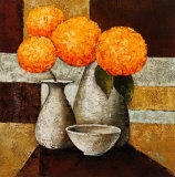 Hydrangeas with Vase III Kunstdrucke von Robert Downs