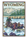 White Water Rafting, Wyoming Posters by  Lantern Press