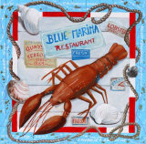 Langouste Affiches par Adriana 