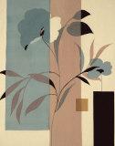 Fleurs du Matin II Poster von Robert Vernet