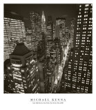 East 40th Street, New York, 2006 Kunstdrucke von Michael Kenna