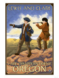 Lewis and Clark, Cape Disappointment, Oregon Prints