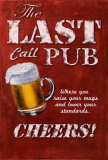 Last Call Pub Poster von Robert Downs