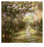 Tuscan Walkway Poster by Haibin 