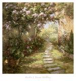 Tuscan Walkway Poster by  Haibin
