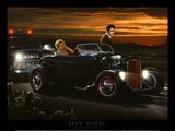 Joyride Posters by Helen Flint