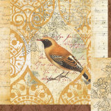 Bird Collage Study II Posters by Katie Pertiet