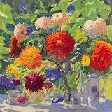 Dahlia Prints by Valeriy Chuikov
