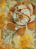 Graphic Floral I Prints by  Dysart