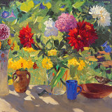 Florescência de Verão Pôsters por Valeriy Chuikov