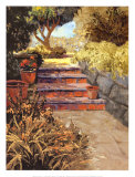 Garden Mediterraneo Art by Erin Dertner