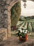 Provence Portico Prints by Erin Dertner