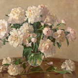 White Roses Prints by Valeriy Chuikov