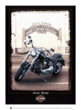Just Ride Poster tekijänä Helen Flint