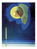 Cerchio giallo Poster di Wassily Kandinsky