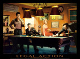 Legal Action Prints by Chris Consani