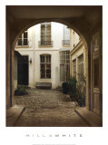 Marais Courtyard Prints by Milla White