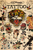 Tattoo Print by Ed Hardy