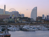 Yokohama Harbour, Yokohama, Japan Photographic Print by Chris Kober