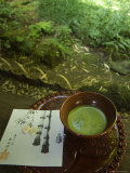 Tea Ceremony in Bamboo Forest, Kamakura City, Kanagawa Prefecture, Japan, Asia Photographic Print by Chris Kober