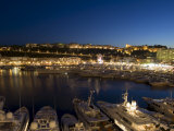 Monte Carlo, Principality of Monaco, Cote d'Azur, Mediterranean, Europe Photographic Print by Sergio Pitamitz