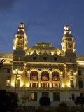 Casino, Monte Carlo, Principality of Monaco, Cote d'Azur, Mediterranean, Europe Photographic Print by Sergio Pitamitz