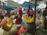 Market, Cuzco, Peru, South America Photographic Print by Oliviero Olivieri