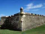 Ancient Fort, Old San Juan, Puerto Rico, West Indies, Central America Photographic Print by James Gritz
