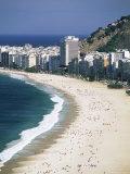 Copacabana Beach, Rio De Janeiro, Brazil, South America Photographic Print by Sergio Pitamitz